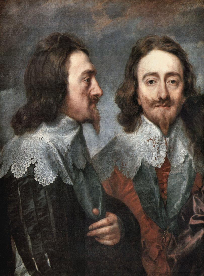 Portrait of Charles I, King of England, detail [2] - Van Dyck